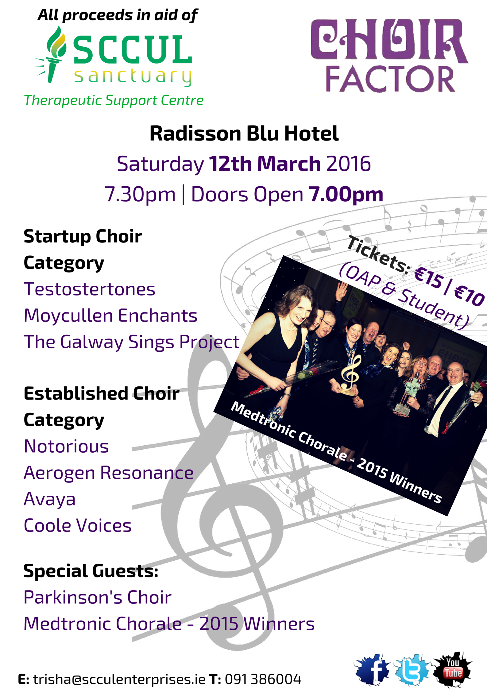 Choir Factor 2015 Galway